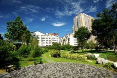 City Park. Urban development as a park Stock Images