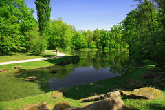 City park Royalty Free Stock Image