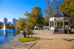 City Park at autumn Royalty Free Stock Photo