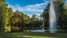 City Park In Bad Homburg Hesse. A city park in Bad Homburg Hesse, Germany Stock Photos