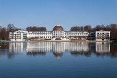 City Park Bremen. In March in glorious weather Stock Photography