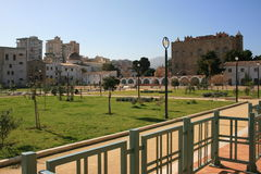 City park in La Zisa, Palermo Stock Images