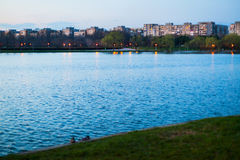 City park lake Royalty Free Stock Photography