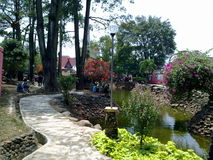 City Park Muara bungo Stock Photography