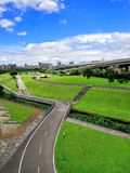 City Park of New Taipei City, Taiwan Stock Image