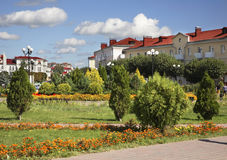 City park in Orsha. Belarus Royalty Free Stock Photography