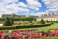 City park. Paris, France. Royalty Free Stock Image