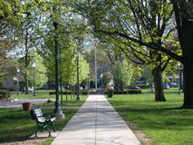 Free City Park Pathway Royalty Free Stock Photography - 3427