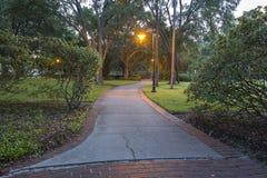 City Park Pathway Stock Image