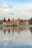 City Park Pavilion Royalty Free Stock Images