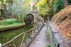City park Rodini.Greece. Rhodes. Royalty Free Stock Image