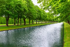 City Park in Schwerin, Germany Stock Photography