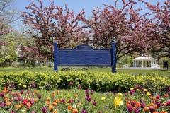 City Park in Springtime Stock Photos
