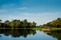 A city park Thailand Royalty Free Stock Photography