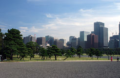 City park in Tokyo. City park in Caesar Palace  in Tokyo Royalty Free Stock Images