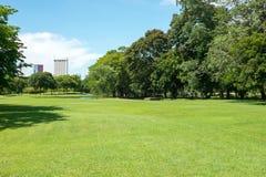 City park. At Vachirabenjatas Park (Rot Fai Park) Bangkok, Thailand Stock Image