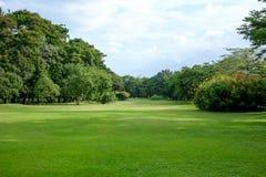 City park. At Vachirabenjatas Park (Rot Fai Park) Bangkok, Thailand Royalty Free Stock Photography