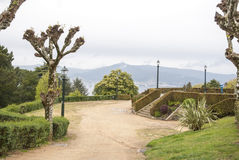 City park in Vigo, Galicia Stock Photos