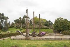 City park in Vigo, Galicia Royalty Free Stock Photography