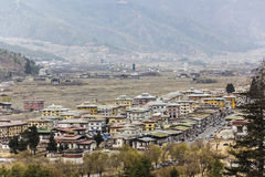 The city of Paro Royalty Free Stock Photo