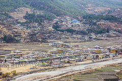 The city of Paro Stock Photos