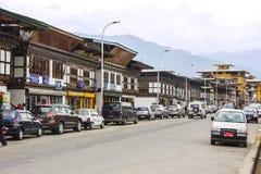 The city of Paro Stock Photos