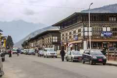 The city of Paro Stock Images