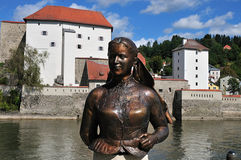 City of Passau Stock Photo