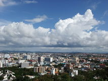 The city. Of Pattaya, Thailand royalty free stock photography