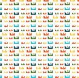 City pattern Stock Photo