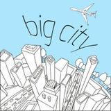 City pattern20 Stock Photography