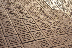 City pavement Royalty Free Stock Images