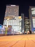 city pedestrians tokyo 免版税库存照片