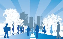 City people Royalty Free Stock Photo