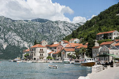 City of Perast Stock Images