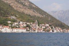 City of Perast. Montenegro former Yugoslavia Stock Images