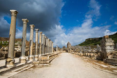 City of Perge Royalty Free Stock Image