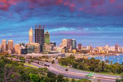City of Perth, Australia. Royalty Free Stock Images