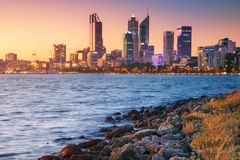 City of Perth. Stock Image