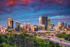 City of Perth. Royalty Free Stock Images