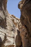 The city of Petra Royalty Free Stock Photography