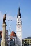 Pfaffenhofen. City of Pfaffenhofen in Bavaria, Germany Stock Photography