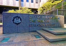 City of Philadelphia One Parkway Royalty Free Stock Images
