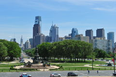 City of Philadelphia Royalty Free Stock Image