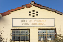 City of Phoenix Building Stock Photography