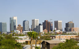 City of Phoenix Downtown, AZ Royalty Free Stock Photo
