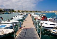 City marina. Royalty Free Stock Photo
