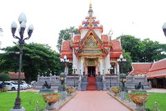 The city pillar shrine Royalty Free Stock Photography