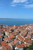 City of Piran Pirano Royalty Free Stock Photo