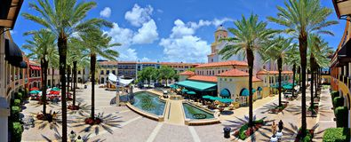 City Place West Palm Beach Stock Photos